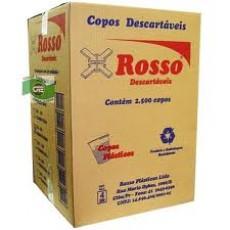 COPO ROSSO  BRANCO 300ML C/100 (20)