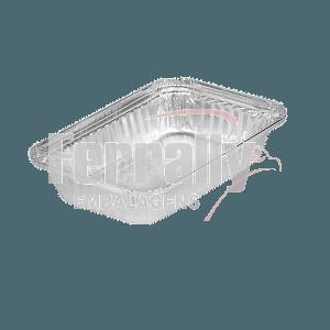 Bandeja Alumínio Boreda 1150ml C/100