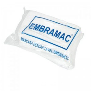 MÁSCARA DESCARTÁVEL EMBRAMAC C/50